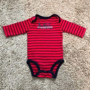 Carter's Mr. Irresistable baby long sleeve onesie